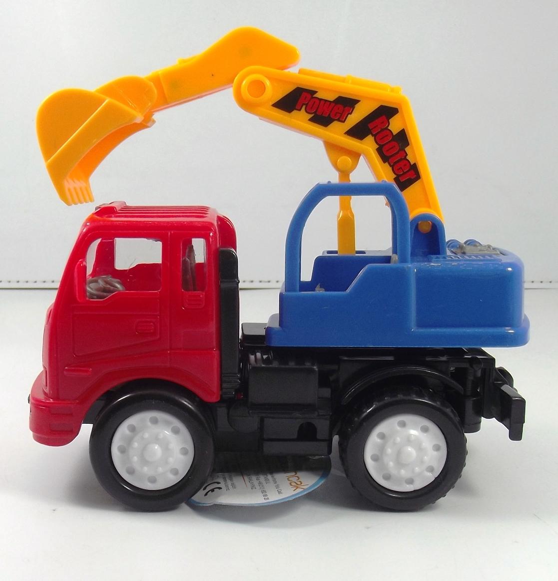 لعبة شاحنة بآلة عمل غير قابلة للكسر