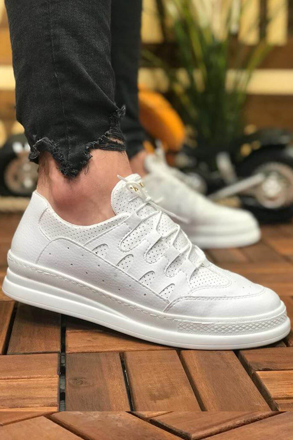 Men's White Casual Shoes