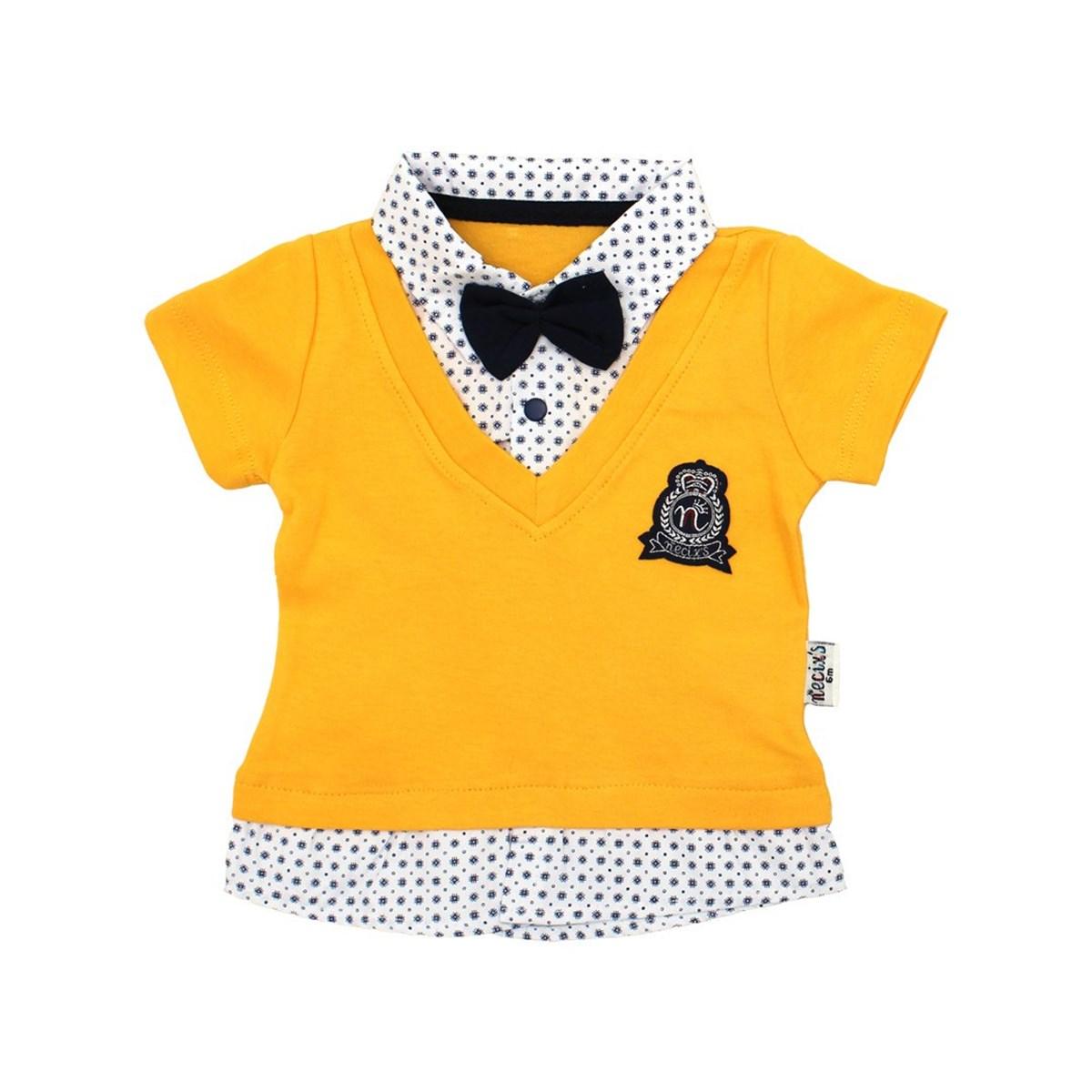 Baby's Summer Yellow T-shirt & Shorts Set
