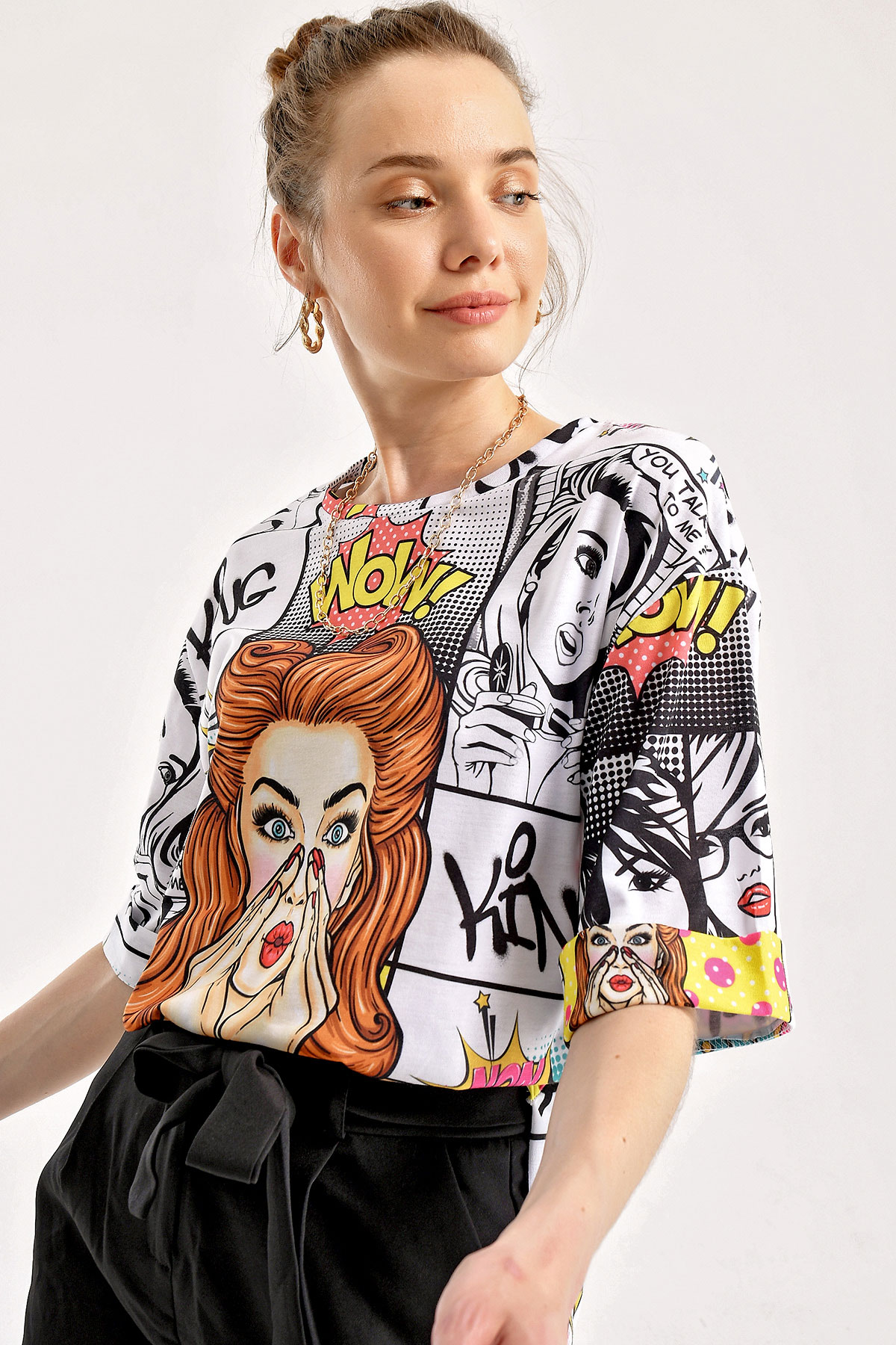 Women's Graphic Pattern T-shirt