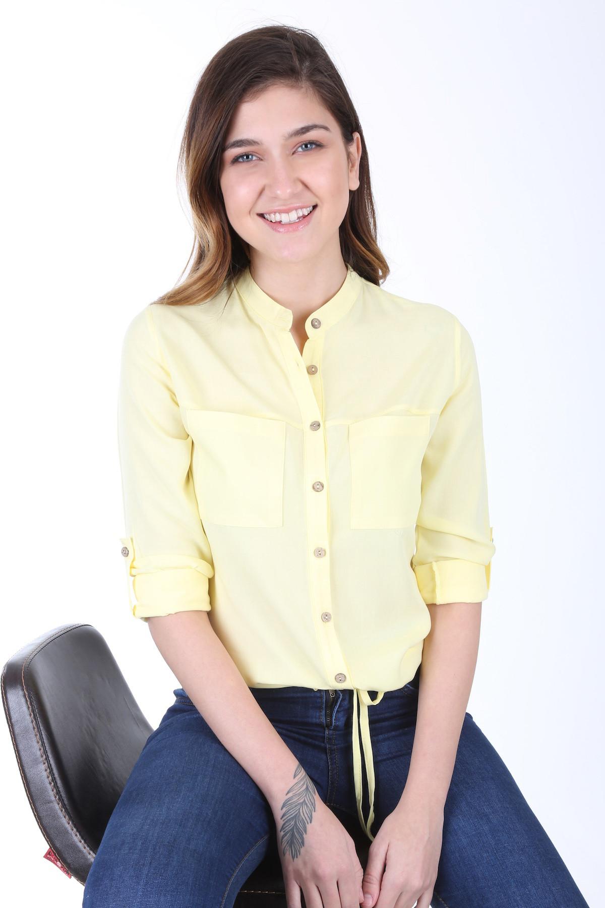 Women's Tie Waist Shirt