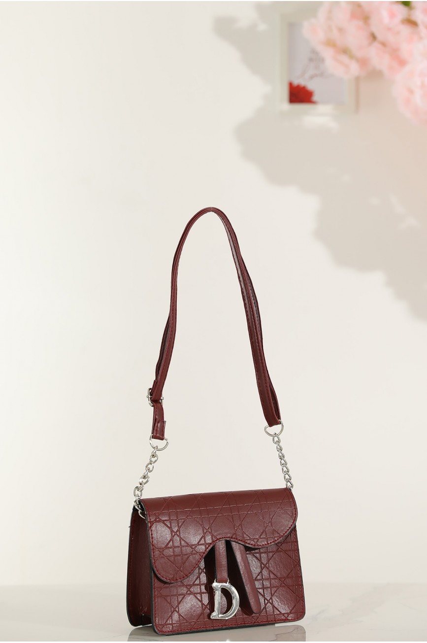Women's Anthracite Shoulder Bag