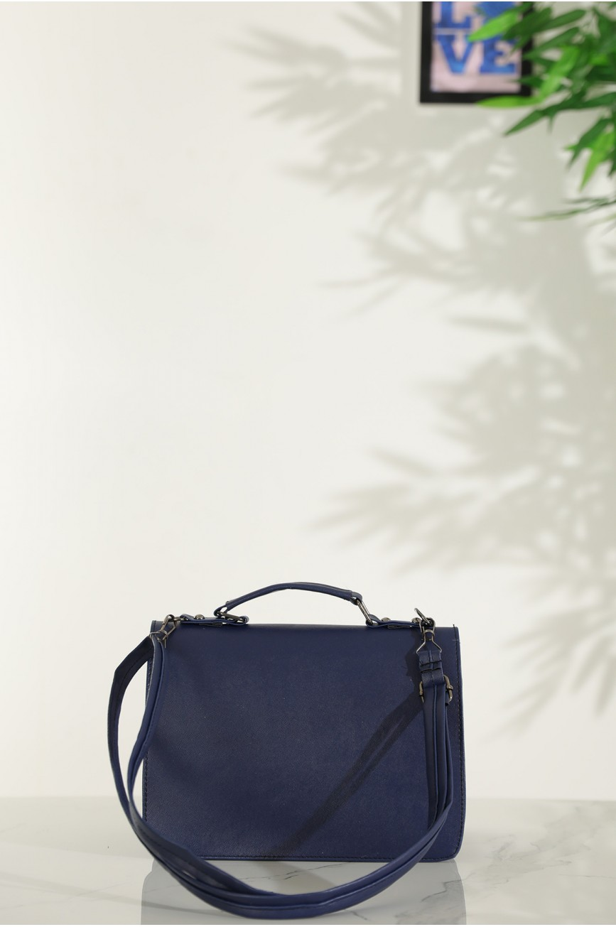 Women's Navy Blue Casual Bag