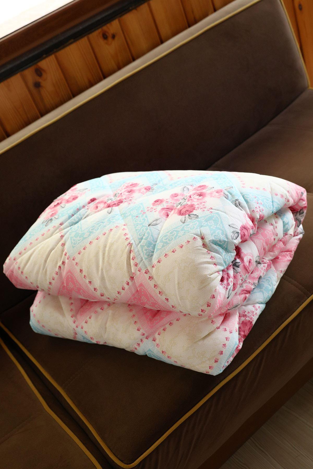 لحاف سرير مزدوج سيليكون مزخرف