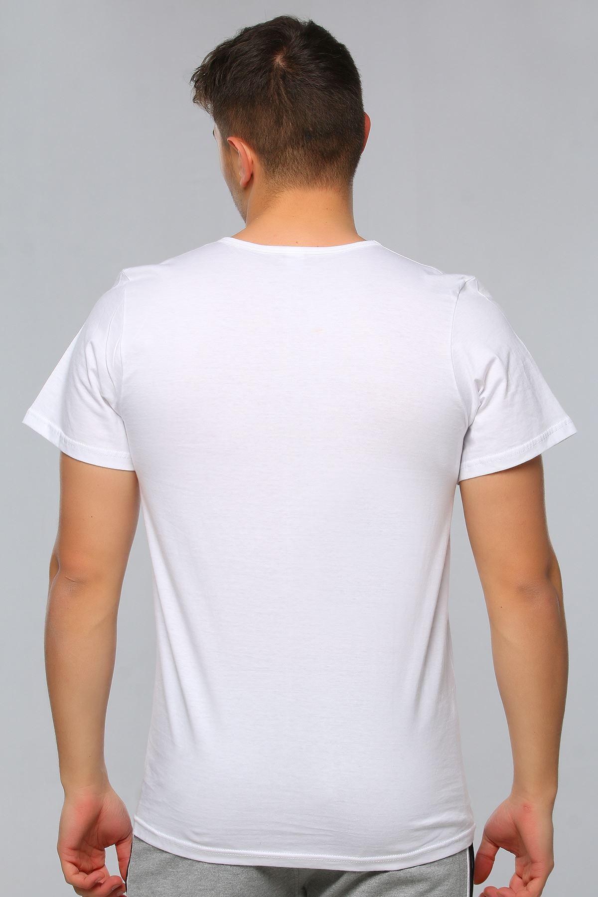 Men's Crew Neck Short Sleeve Undershirt