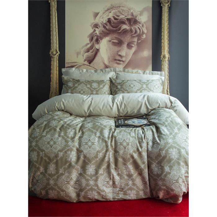 طقم غطاء لحاف سرير مزدوج بطبعة