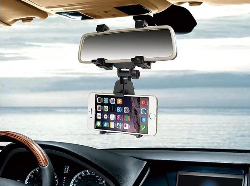 حامل هاتف لمرآة السيارة