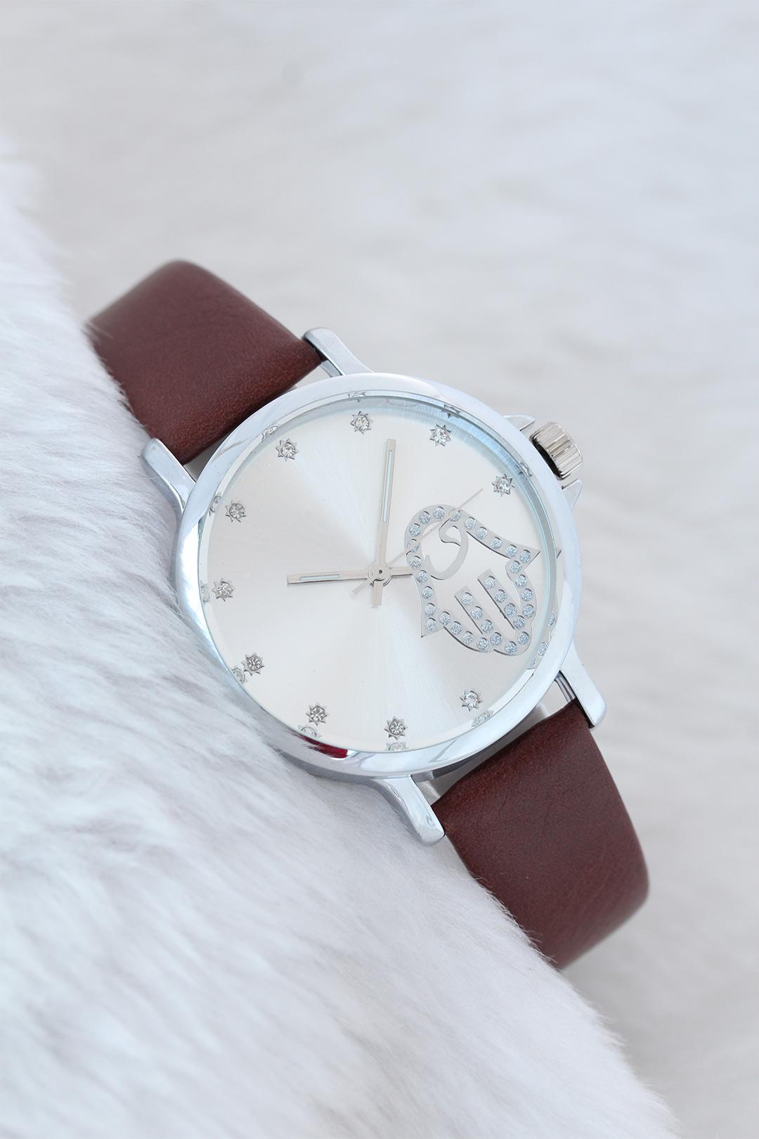 Women's New Season Leather Corded Watch