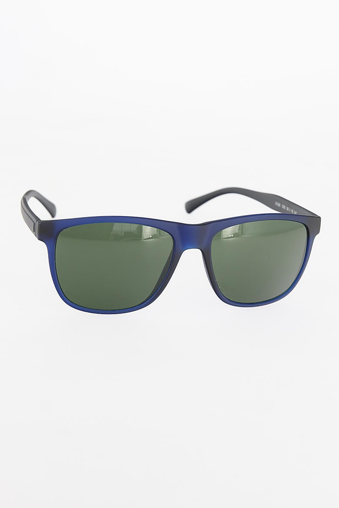 نظارات شمسية بإطار مربع كحلي رجالي