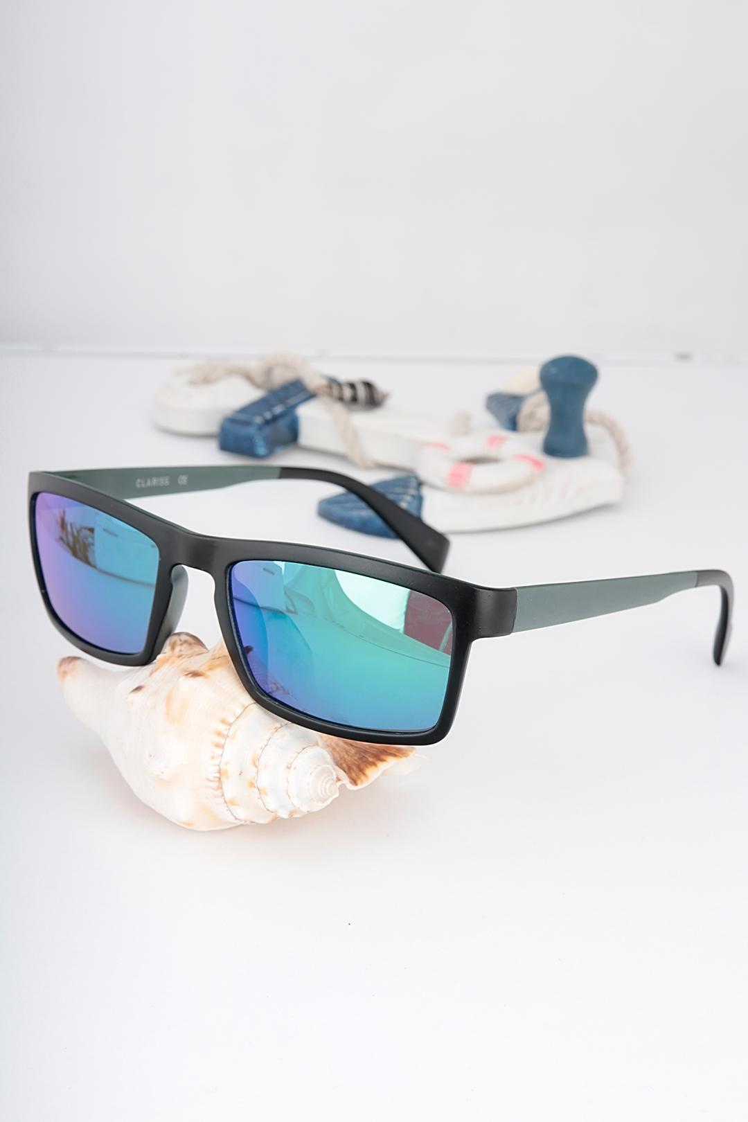 Black Metal Light Frame Sunglasses