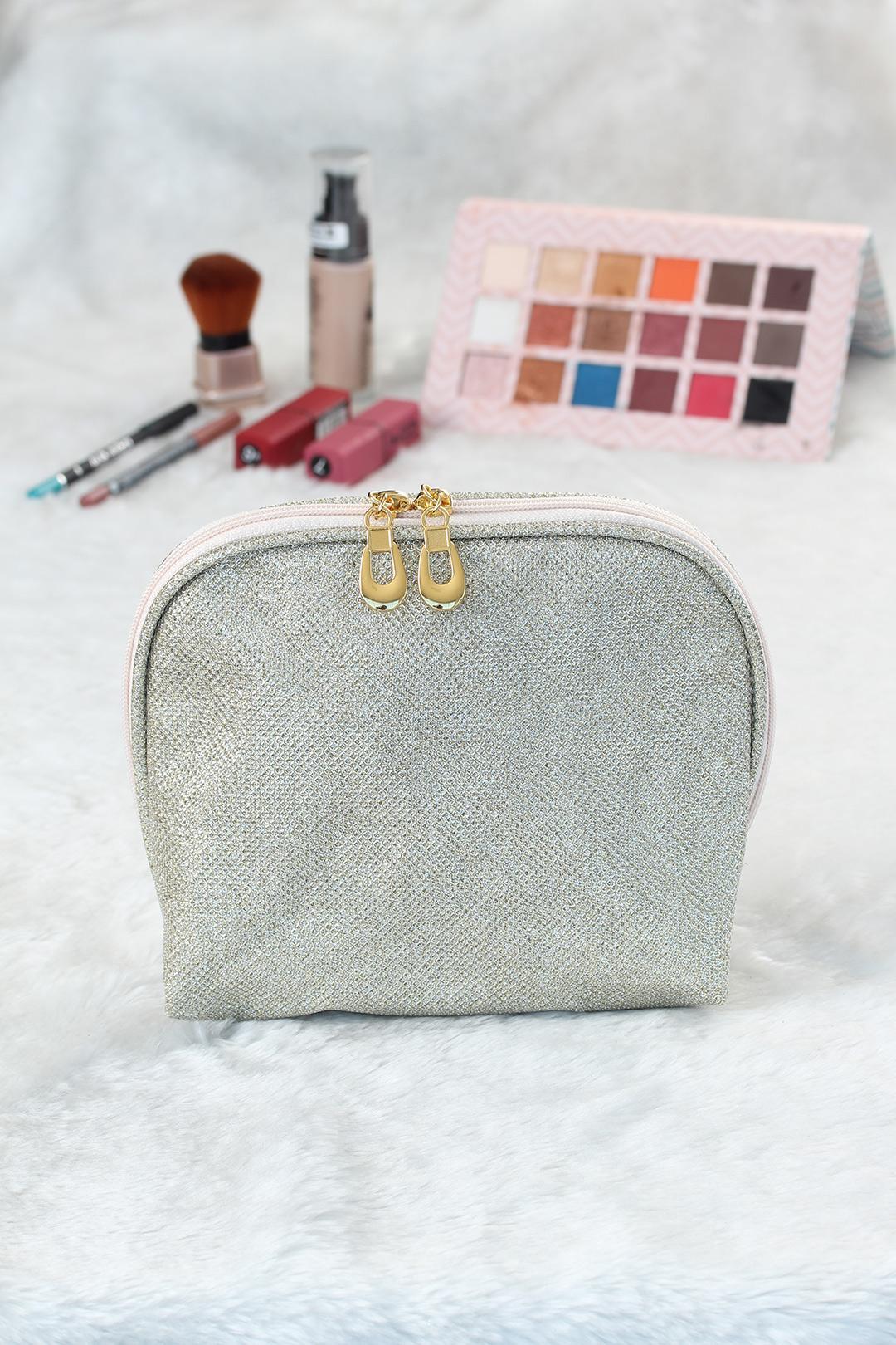 Women's Glitter Makeup Bag