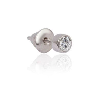 Men's Diamond Gem Earring