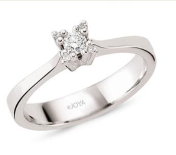 0.15 ct Diamond Gemstone Ring