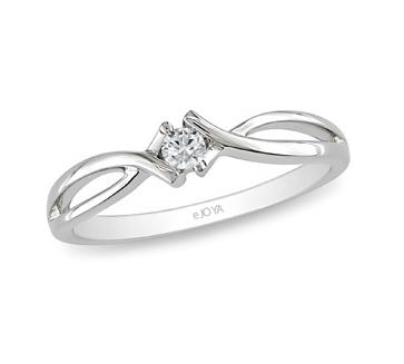 Women's 0.08 ct Diamond Gemstone Ring
