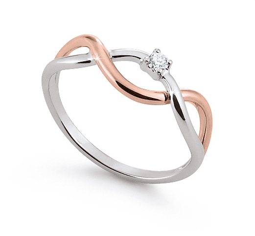 0,03 ct Diamond Gem Ring