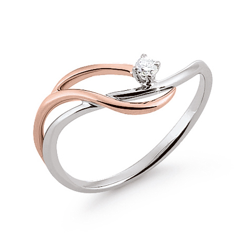 Women's 0.03 ct Diamond Gem Ring