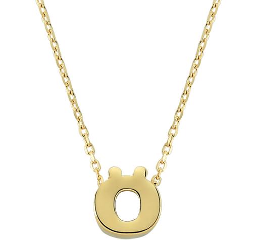 Women's Letter Ö Pendant Gold Necklace