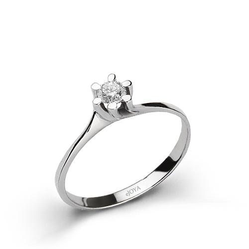 0,13 ct Diamond Gem Ring