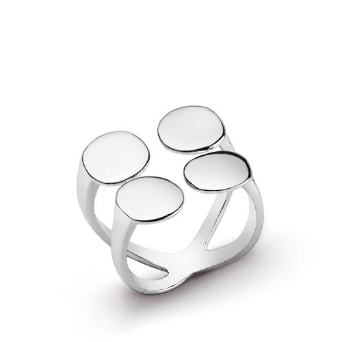 Women's Trendy Silver Ring