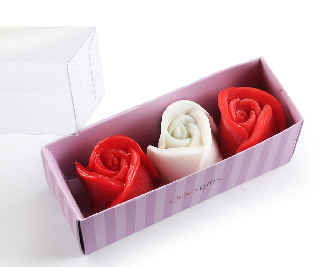 Rose Shape Scented Soap Gift Package
