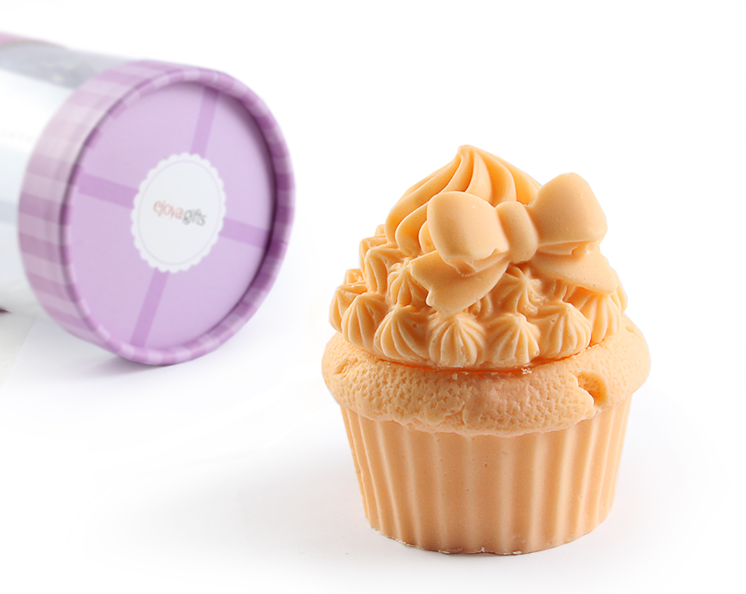 Cupcake Shape Scented Soap Gift Package