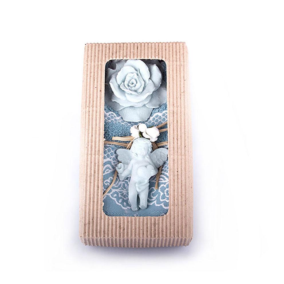 Women's Mint Green Towel & Ocean Scented Stone Gift Set