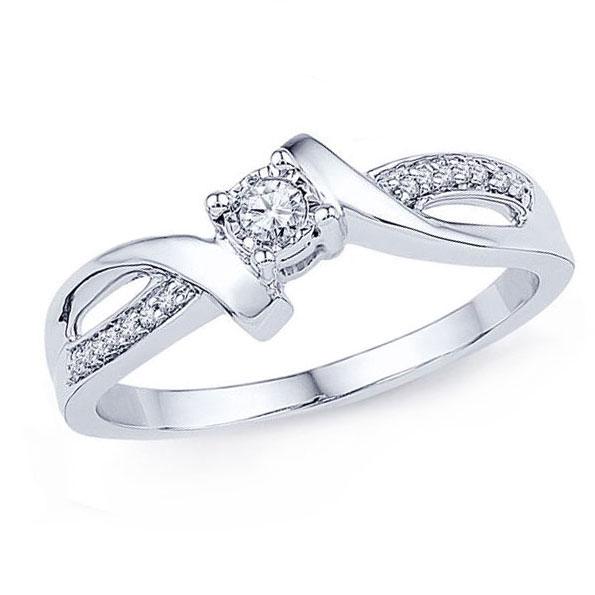 Women's 0.17 ct Diamond Gem Ring
