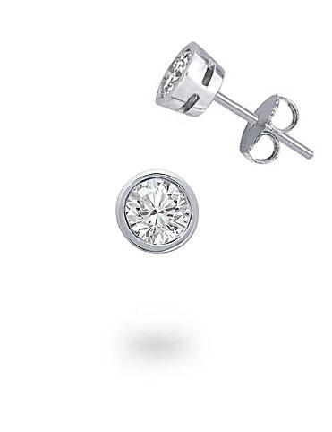 Men's 0,15 ct Diamond Earring
