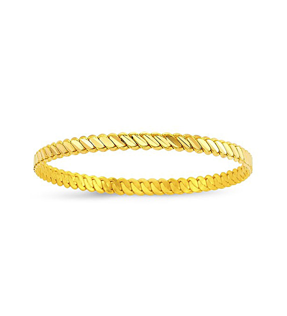Gold Plated Bracelet- Middle Size