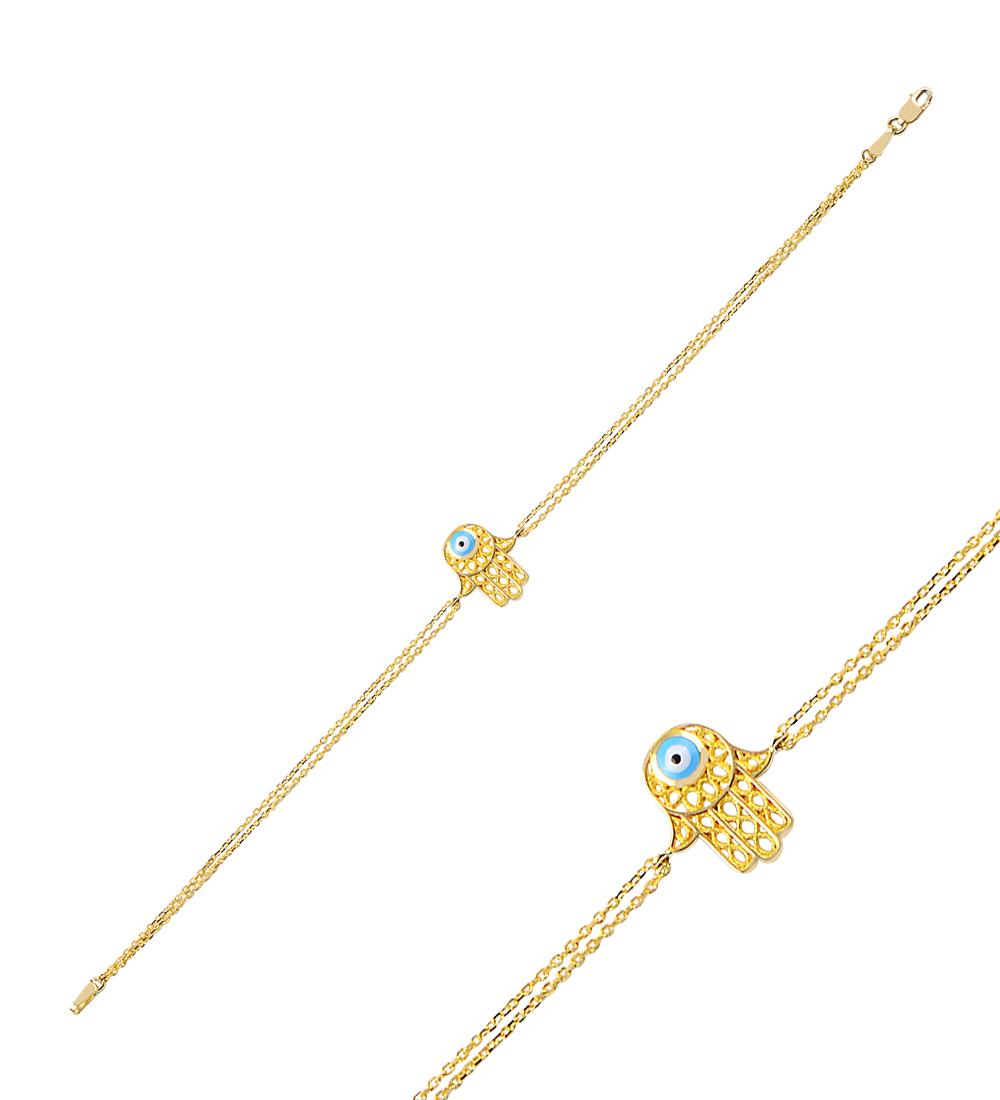 Hand Accessory Gold Bracelet