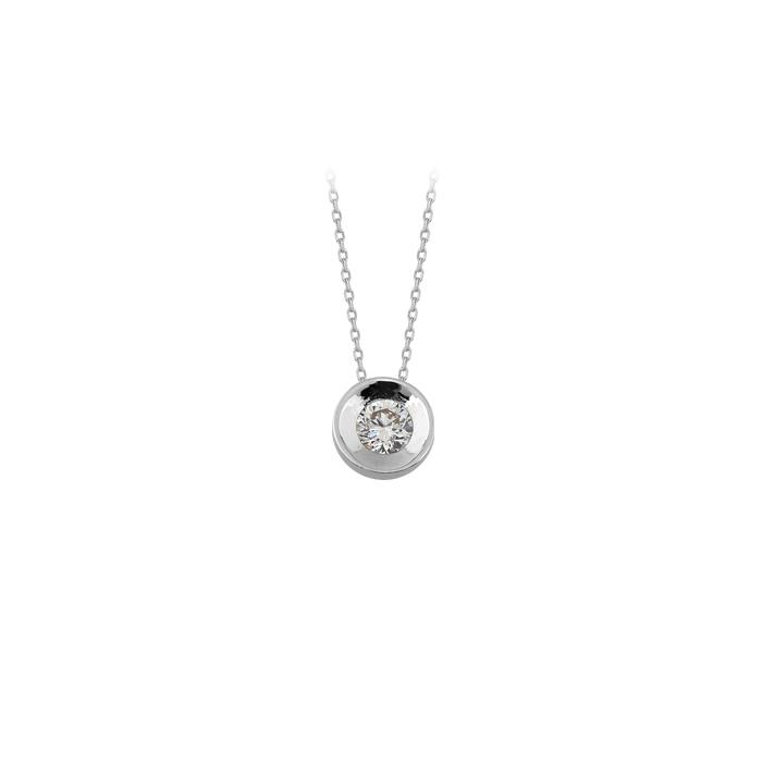 Women's Gemmed 14k Gold Necklace