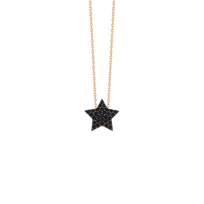 Star Pendant 14 Carat Gold Necklace