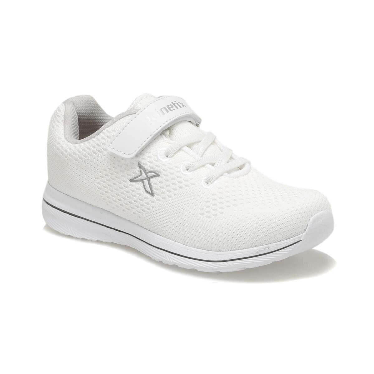حذاء مشي أبيض بناتي