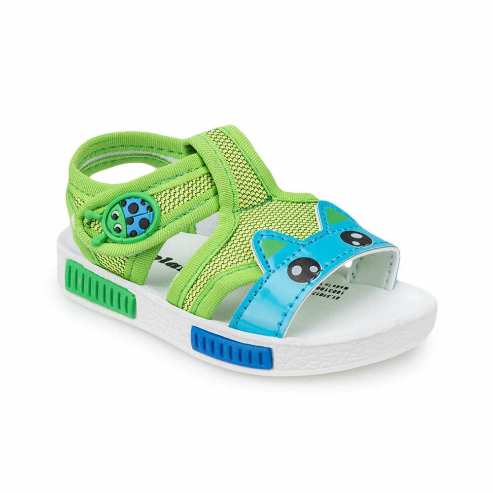 Boy's Green Blue Sandals