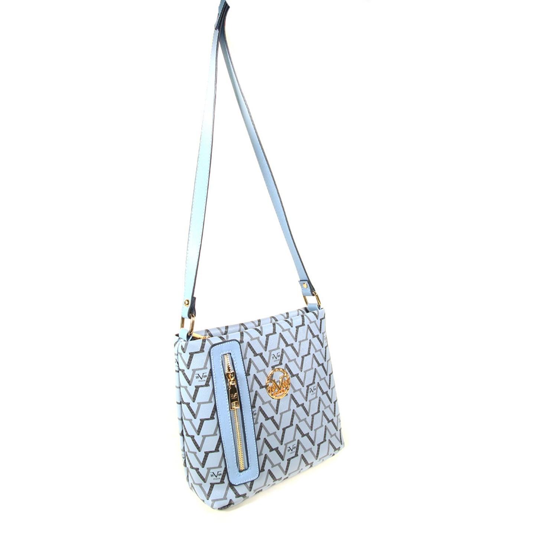 حقيبة كروس بادي زرقاء نسائية