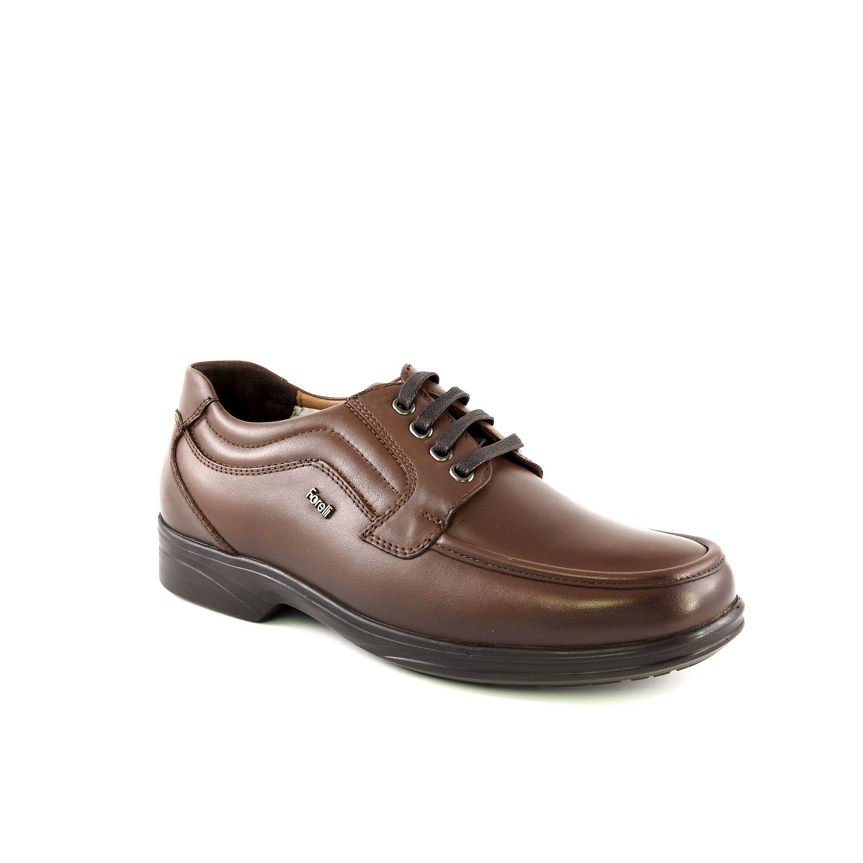 حذاء مريح جلد بني رجالي