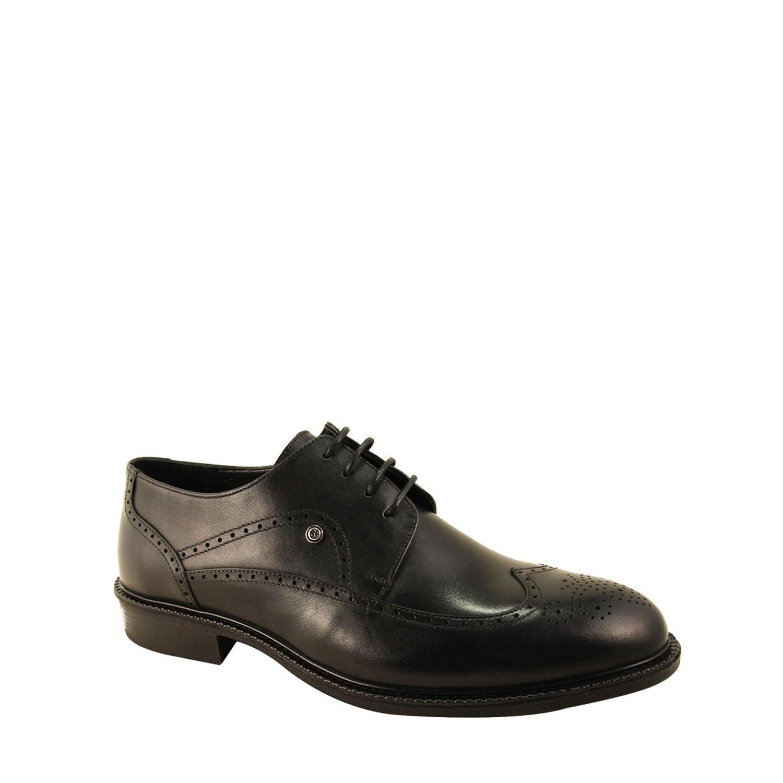 Men's Black Leather Classic Shoes