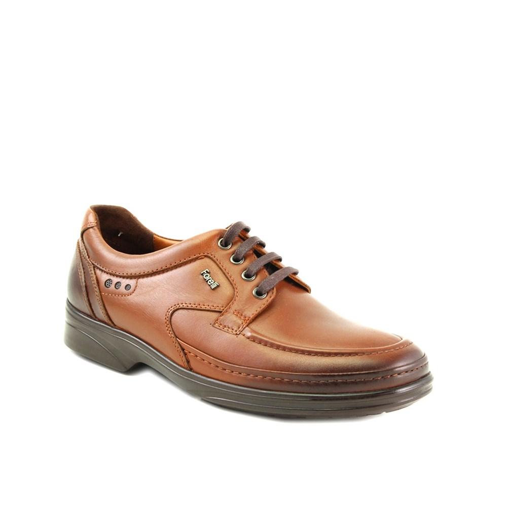 حذاء مريح جلد بني فاتح رجالي