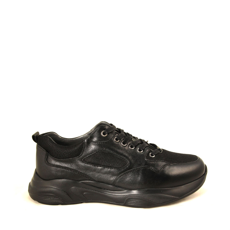 Men's Black Comfort Shoes