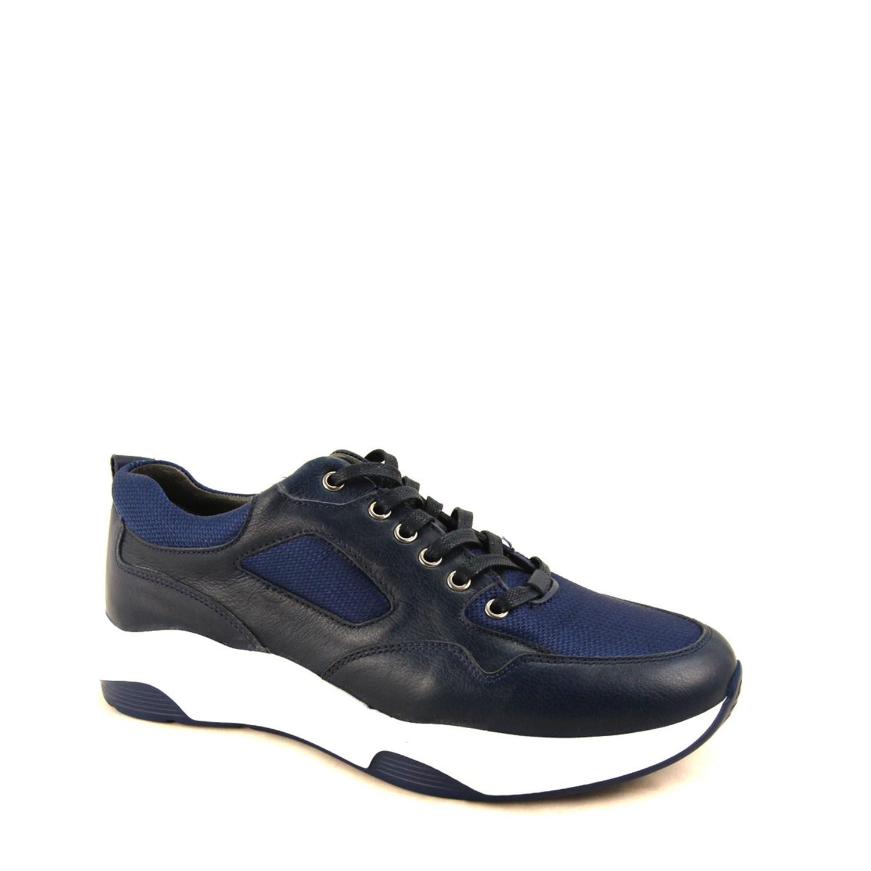 Men's Navy Blue Comfort Shoes