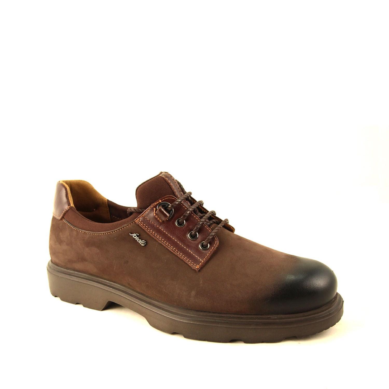 Men's Brown Nubuck Shoes