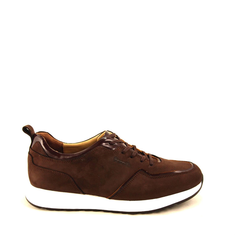 Men's Brown Nubuck Comfort Shoes