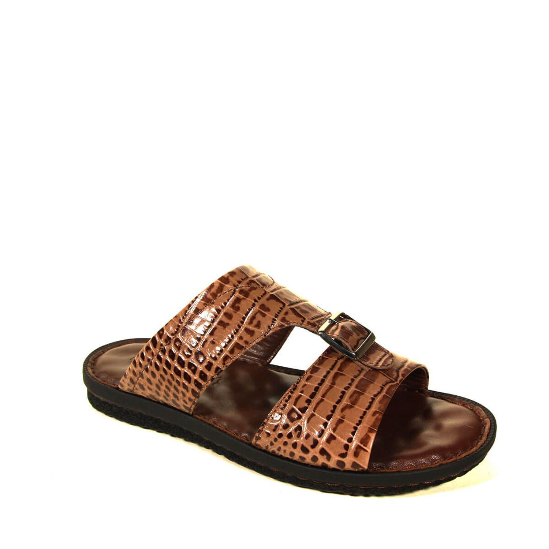Men's Crocodile Leather Slippers