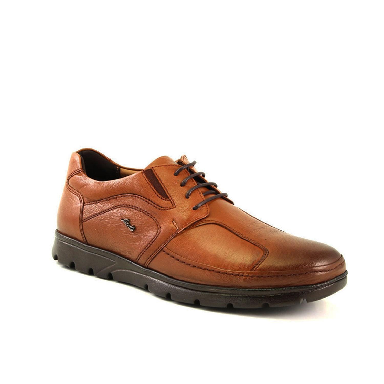 حذاء جلد بني فاتح رجالي