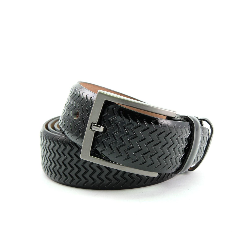Men's Buckle Black Belt