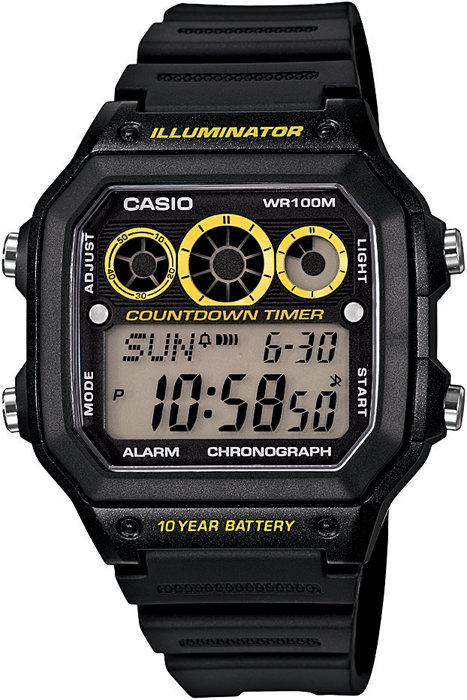 ساعة رقمية سوداء رجالي