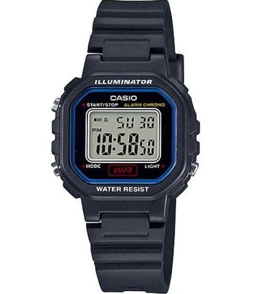 ساعة يد ديجيتال سوداء نسائية