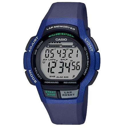 ساعة رقمية كحلي رجالي