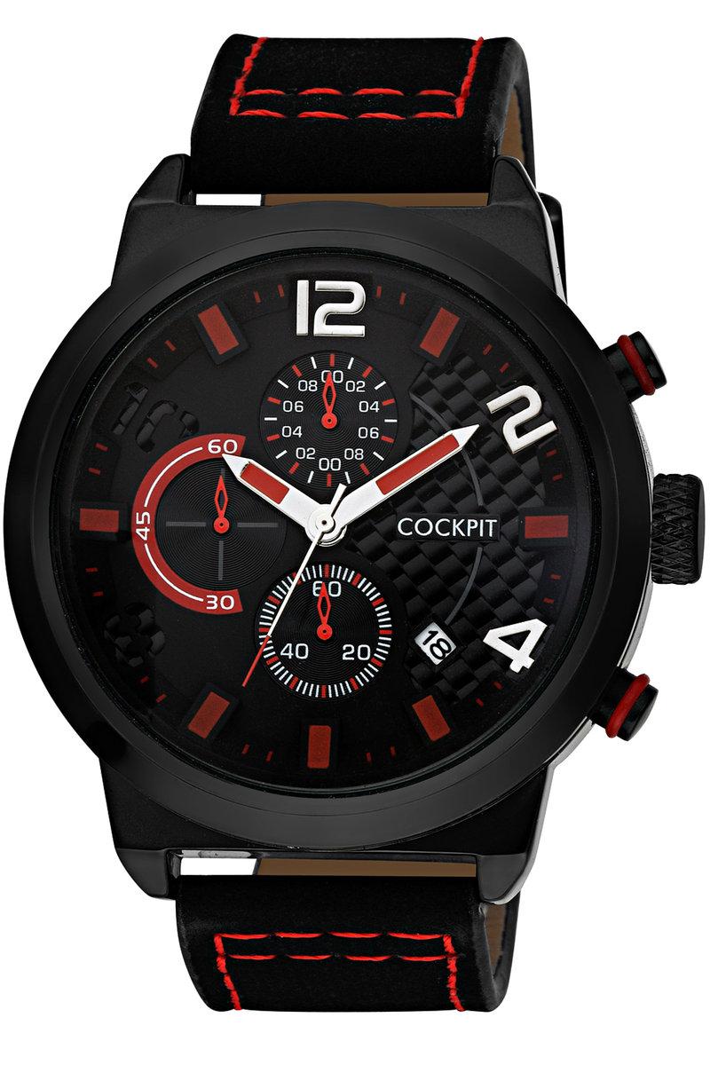 Men's Metal Case Black Watch
