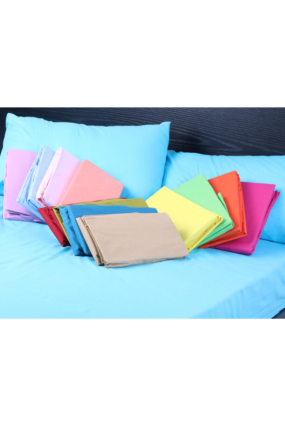Cotton Hoisery Elastic Double Bed Sheet- 180×200 cm